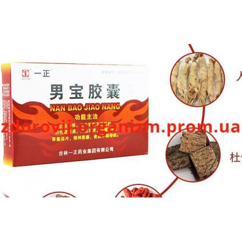 Препарат Nan Bao Jiao Nang для потенции