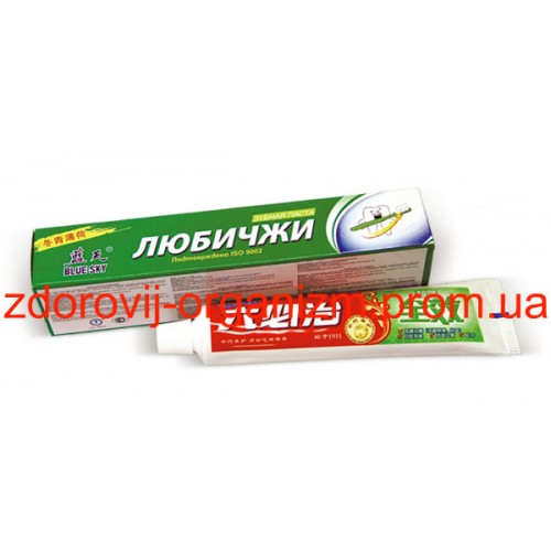 Зубная паста Любичжи Lubizhi
