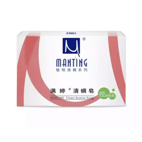 Мыло MANTING Мантинг от демодекоза клеща acarus removing
