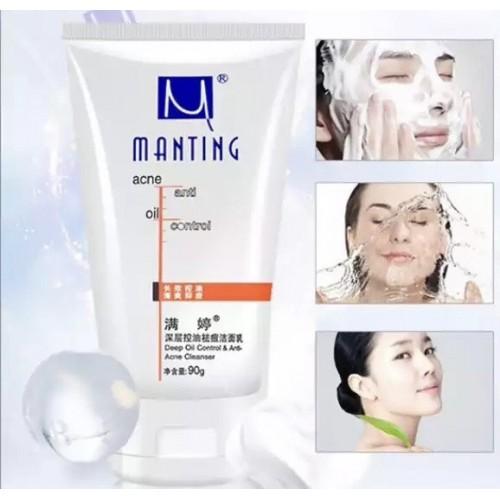 Молочко для умывания Manting Контроль за блеском очищение кожи