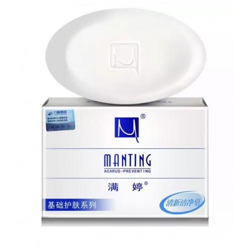 Мыло Мантинг подходит для проблемной жирной кожи склонной к аллергии