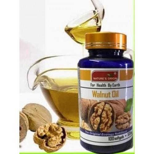 Грецкий орех масло в капсулах Black Walnut 100 капсул Вековой Восток 999