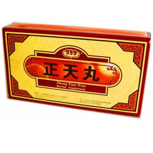 Чжэнтянь Вань ZhengTian Wan пилюли от головной боли 999