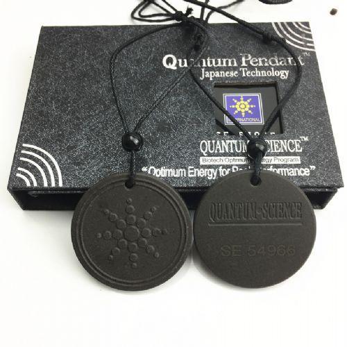 Энергетический скалярный кулон с турмалином Quantum Pendant