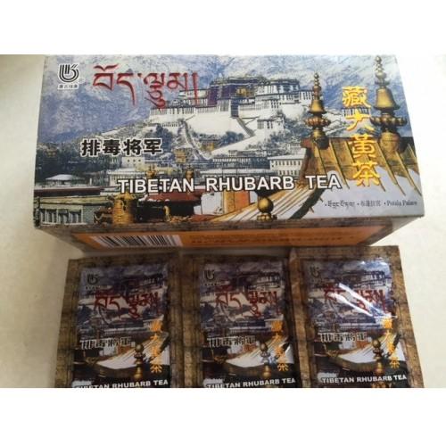 Чай для выведения шлаков из ревеня 20 пакетиков ДоЮань