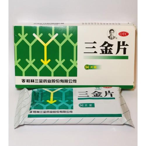 Сань Цзинь Пянь от цистита пиелонефрита и инфекций мочеполовой системы