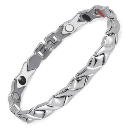 Турмалиновый магнитный браслет сильвер 5в1 Вековой Восток