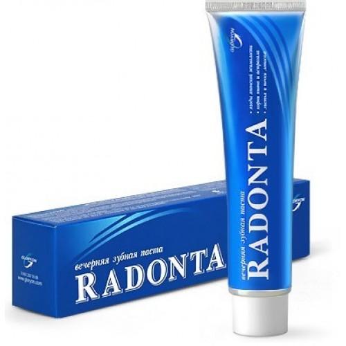 Вечерняя зубная паста Radonta