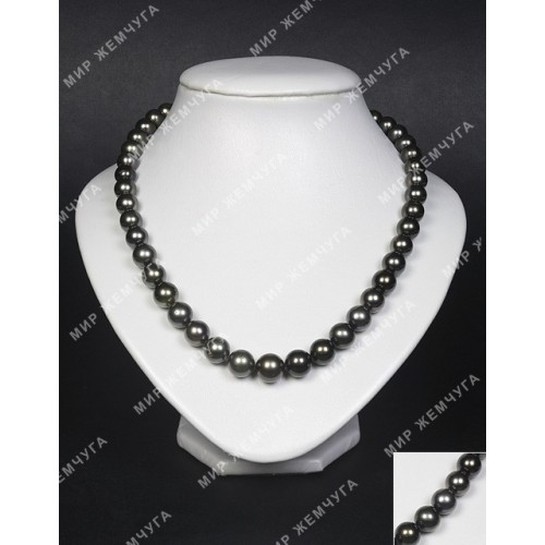 Ожерелье из черного морского жемчуга Вековой Восток