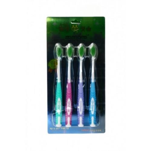 Турмалиновые зубные щетки Вековой Восток 4 штуки