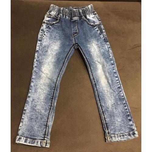 Детские джинсы на резинке бу
